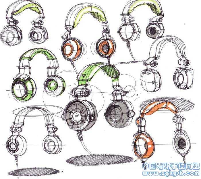 产品设计手绘效果图产品设计