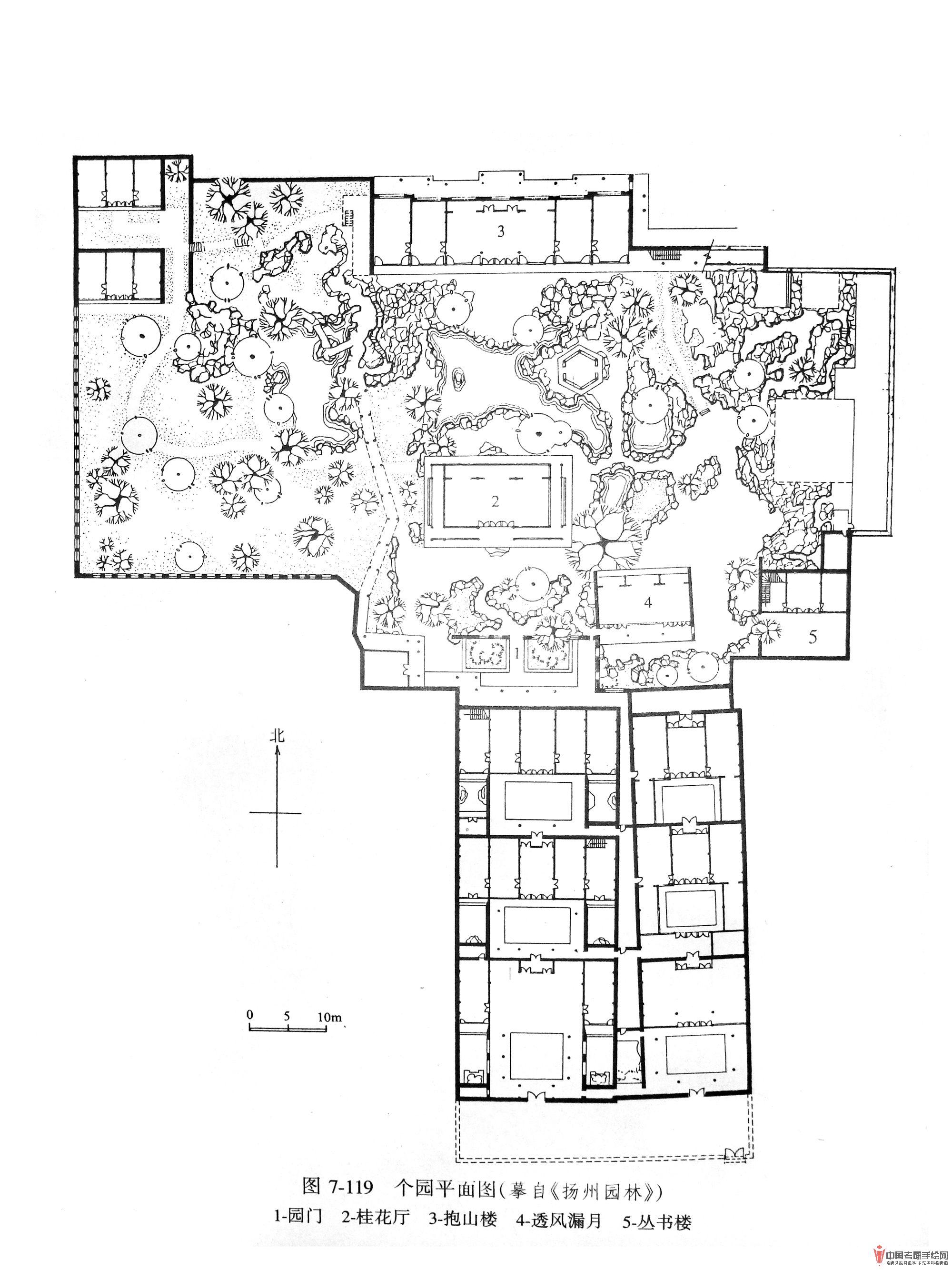 [风景园林] 苏州园林手绘平面图[含7p]