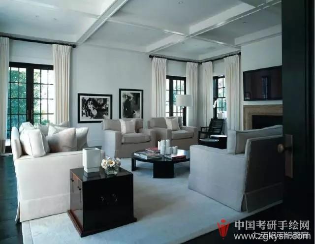 【七手绘小七课堂】每周学点手绘——室内八大元素之现代家具篇