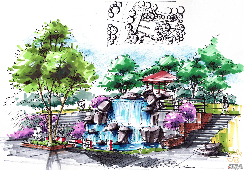 公园水榭景观手绘透视图.jpg